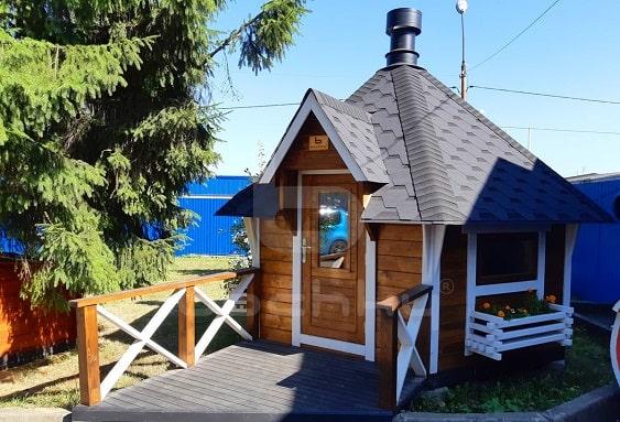 Гриль домики от Bochky® отличное решение для загородного участка. Гриль домики включают все необходимое и сразу готовы к использованию